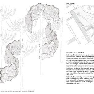 Axonometry, Site plan