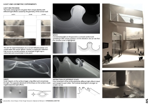 Light and geometric experiments