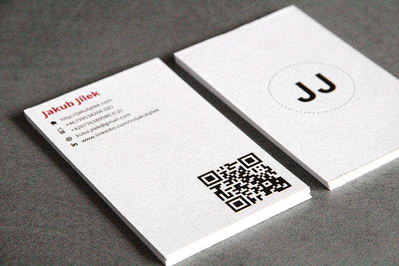 Business Cards & Resume – Jakub Jílek